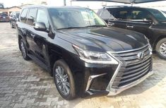 Selling 2017 Lexus LX automatic at price ₦50,000,000