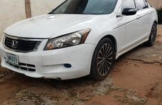 Used white 2009 Honda Accord for sale at price ₦1,600,000 in Onitsha