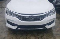 White 2017 Honda Accord sedan automatic for sale in Lagos