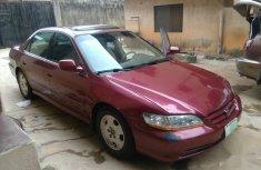 Need to sell cheap used 2002 Honda Accord sedan in Lagos