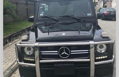 Sell cheap black 2013 Mercedes-Benz G-Class automatic in Lagos