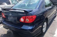 Clean and neat used blue 2002 Toyota Corolla automatic in Sokoto at cheap price