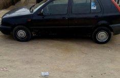 Best priced black 1998 Volkswagen Golf manual in Abuja