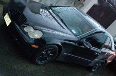 Mercedes-Benz C240 2004 Black color for sale
