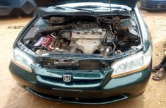 Well maintained green 2001 Honda Accord automatic for sale in Abuja