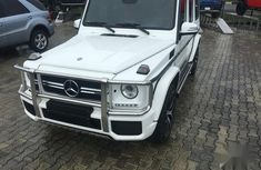 Need to sell white 2013 Mercedes-Benz G-Class at mileage 602 in Lagos