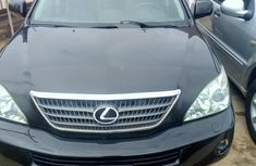 Sell used black 2008 Lexus RX automatic at price ₦3,800,000