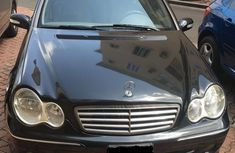Mercedes-Benz C280 2006 Black color for sale