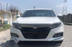 Used white 2018 Honda Accord sedan automatic for sale