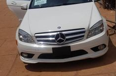 Sell white 2010 Mercedes-Benz C300 at mileage 80,000 in Abeokuta at cheap price