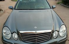 Mercedes-Benz E350 2008 Gray color for sale