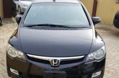 Need to sell black 2008 Honda Civic at price ₦1,650,000