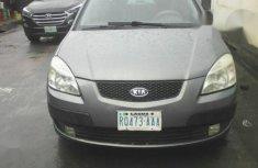 Sell well kept grey 2009 Kia Rio sedan automatic in Lagos