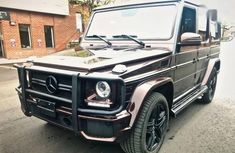 Sell used brown 2015 Mercedes-Benz G-Class suv automatic at cheap price