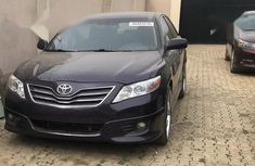 Best priced used purple 2010 Toyota Camry automatic in Lagos