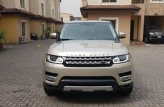 Used gold 2015 Land Rover Range Rover Sport automatic for sale in Ikeja