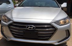 Sell grey/silver 2017 Hyundai Elantra at mileage 7,000 at cheap price