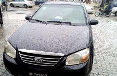 Clean black 2006 Kia Cerato manual for sale at price ₦400,000