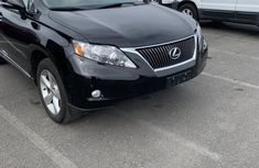 Used black 2012 Lexus RX automatic at mileage 55,000 for sale