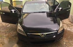 Used black 2007 Honda Accord automatic car at attractive price