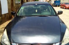 Nigerian Used 2005 Honda Accord LX Automatic Blue Colour
