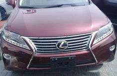 Red 2014 Lexus RX automatic at mileage 43,050 for sale