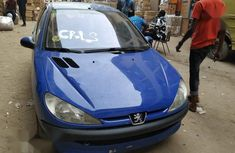 Sell well kept blue 2003 Peugeot 206 hatchback at price ₦850,000