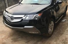 Neatly used black 2008 Acura MDX automatic in Lagos