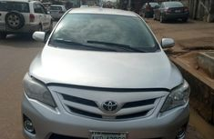Well maintained grey 2012 Toyota Corolla sedan for sale in Lagos