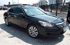 Well maintained black 2011 Honda Accord automatic for sale in Lagos