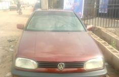 Need to sell cheap used red 1999 Volkswagen Golf manual