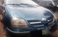 Very sharp neat blue 2002 Nissan Almera manual for sale