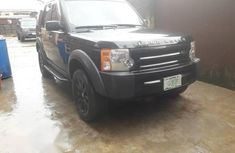 Black 2006 Land Rover LR3 automatic at mileage 95,000 for sale