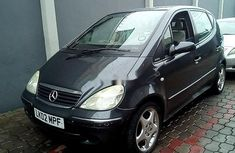 Need to sell black 2002 Mercedes-Benz A-Class hatchback at price ₦820,000