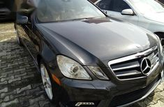 Used 2012 Mercedes-Benz E550 car automatic at attractive price in Lagos