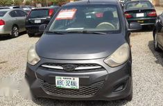 Clean grey/silver 2011 Hyundai i10 automatic for sale at price ₦950,000
