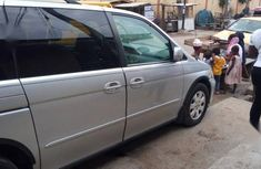 Grey 2002 Honda Odyssey at mileage 120,000 for sale