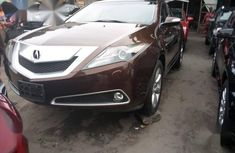 Brown 2011 Acura ZDX at mileage 1 for sale