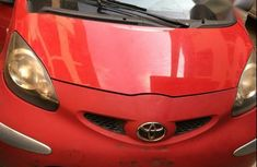 Sell red 2005 Toyota Aygo manual at mileage 89,322