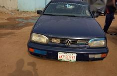 Blue 1998 Volkswagen Golf manual at mileage 1,945,527 for sale in Lagos