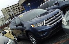 Very sharp neat blue 2018 Ford Edge automatic for sale