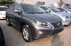 Sharp used grey 2014 Lexus RX suv car at attractive price