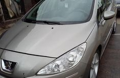 Need to sell grey 2008 Peugeot 408 at mileage 95,000 in Ikeja