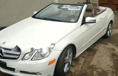 Sell well kept white 2011 Mercedes-Benz E350 automatic