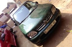 Need to sell cheap used green 2001 Nissan Micra manual in Lagos