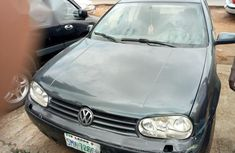 Selling gray 2002 Volkswagen Golf at cheap price