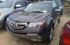 Clean and neat grey 2009 Acura MDX