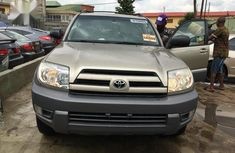Toyota 4-Runner SR5 4x4 2004 Gold color for sale