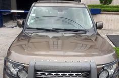 Sell brown 2014 Land Rover Discovery IV automatic at cheap price
