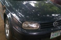 Sell used black 2002 Volkswagen Golf sedan automatic at cheap price